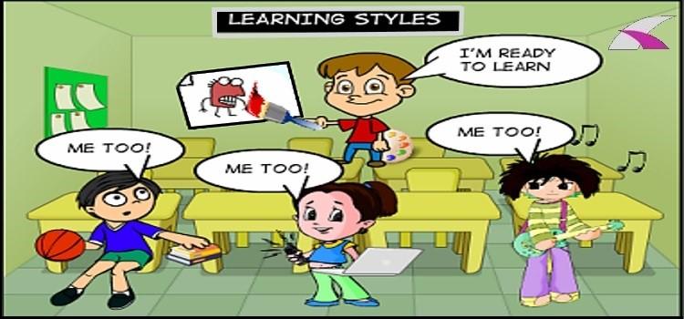 learning styles cartoon