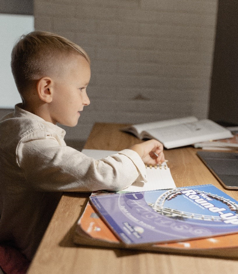 online math tutoring student
