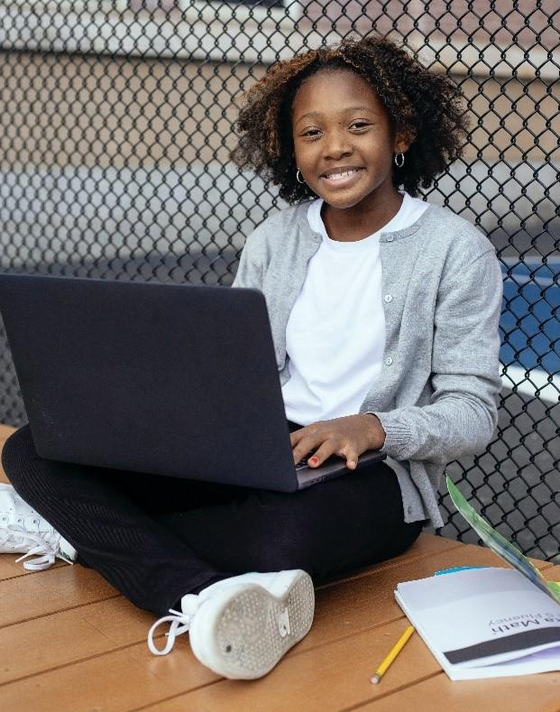 tutoring vs teaching happy student